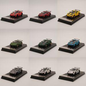1:64 Scale metal toy car model 911 GT2 RS Diecast model car LJ200930