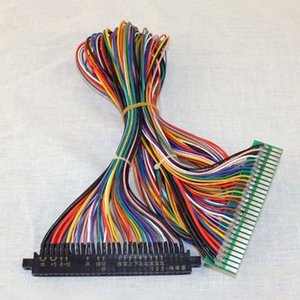 Full 56 pins wiring Jamma Extender Harness loom for Arcade PCB video game board