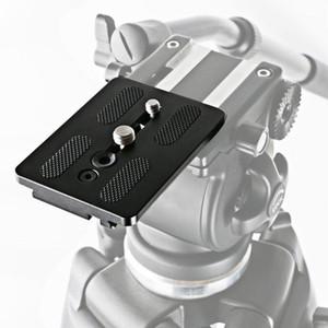 1 ADET Tripod Kafa Kamera Hızlı Yayın Plakası Kurulu Hızlı DSLR WF-717 KQS81 için dayanıklı