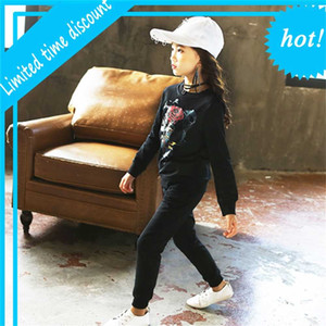 Girls' suit 2021 spring and autumn new children's wear