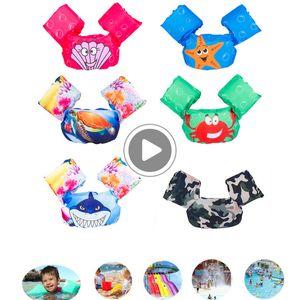 KS78 Puddle Jumper Piscina Life Cartoon Giacca di sicurezza del galleggiante della maglia per i bambini neonati BB55