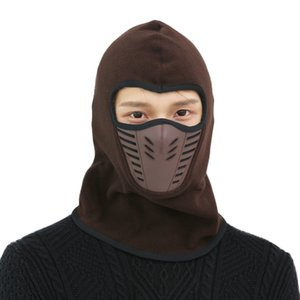 Hot Winter masks Warm Hat Thicker Barakra Hat Cycling Caps motorcycle windproof dust CS Ski mask tactics section head sets Tactical mask