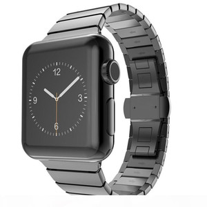 Strap For band 5series44 mm 40mm iwatch4 band 42mm 38mm Stainless Steel Link bracelet metal watchband 3 2