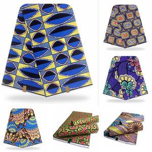 2021 Новый Tssu African Print Golden Wax Fabric Black Block Ankara Pagne с золотой линейной поверхностью слоя для шитья платья для свадьбы