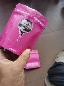 Premium Indoor Pink Wonderbrett Strawberry Bliss 10x12.4cm SF California 3.5G Bolso vacío 3.5g Mylar Bolss WMTFHD DHSYBABY