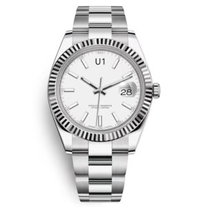 U1 ST9 Luxury Watch Silver Dial 41mm 126333 126334 Automatic Mechianical Wristwatches Jubilee Strap Sapphire 2813 126301 Datejust Movement Mens Watches