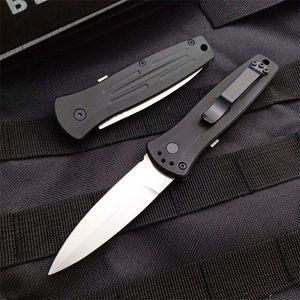 venda Bench quente feito borboleta 3551 rápida de corte lateral Abertura Rápida Folding facas Fiber Glass Nylon Handle Camping bolso EDC