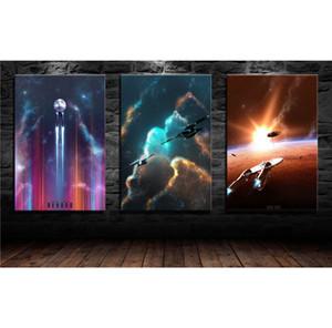밀레니엄 팔콘 스타 벤질 조각 HD 캔버스 인쇄 홈 인테리어 아트 회화 / (프레임 화 / 액자)