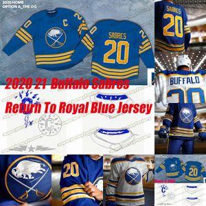 Buffalo Sabres 2020 21 Return To Royal Blue Jack Eichel Victor Olofsson Jeff Skinner Wayne Simmonds Kyle Okposo Rasmus Ristolainen Jersey