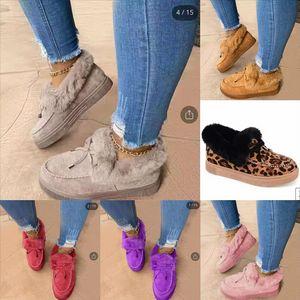 Mehae Home Plus Velvet Дизайнерские тапочки Обувь Пряжа Зимние тапочки Милые Снежные Сапоги Свинья Хлопок Хлопок Мода Дети Плоский Хлопок Тапочки