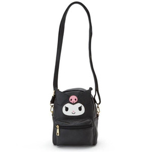 Cute My Melody Cinnamoroll Kuromi PU кожи плеча Small Back Pack Crossbody Сумки для женщин Девушки Sling Bag C1003