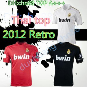 2011 2011 2011 Ретро Реал Мадрид Футбол Джерси 11 12 Ramos Kaka Roaldo Benzema Alonso Классическая футболка Футбол Рубашка CamiSeta 5