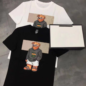 2021 New Pringting Tee Cotton Summer Street Skateboard Mens T 셔츠 남성 여성 반팔 캐주얼 티 사이즈 S-4XL