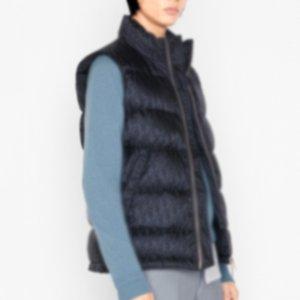 Dior Vest Jacket 20FW High End completa impresso para baixo Quente Vest Mulheres Homens Winter Outdoor mangas Coats Algodão clássico Jackets Rua Outwear HFYMYRF065