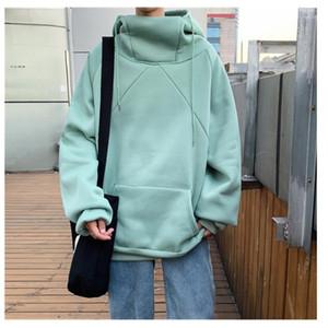 2019 Spring Autumn Fashion Brand Male Casual Hoodies Sweatshirts Men's Solid Color Hoodies Sweatshirt Tops1