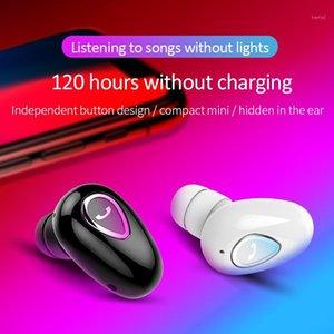 Mini Bluetooths Auricular Bluetooth inalámbrico YX01 Auriculares estéreo TWS en Auriculares de oreja única 1