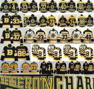2019 Third Black Alternate Boston Bruins Ice Hockey 4 Bobby Orr Zdeno Chara 37 Patrice 46 Krejci David 88 Pastrnak 40 Tuukka Rask Jerseys