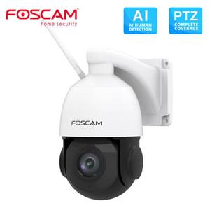 Foscam SD2X 1080P 듀얼 밴드 와이파이 PTZ 야외 카메라 18 배 광학 줌 내장 마이크 128G 지원
