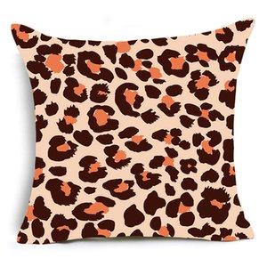 Einseitige Drucktier Leopard Dekorative Kissen Fall Super Weiche Samt Schwarzweiß-Zebra Muster Kissenbezug Sofa GWF4875
