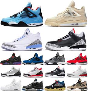 Nike Air Max Retro Jordan Shoes Top 3 3s Mens Basketball Shoes per la gioventù SEOUL Knicks Rivals puro cemento bianco gatto nero Katrina Sneaker Trainer Size 7-13