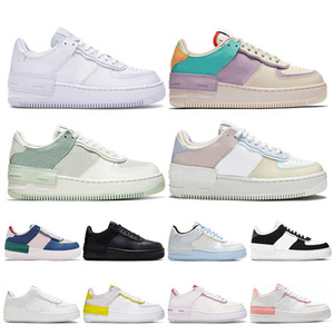 air force 1 af1uomo donna scarpe da corsa 1 tipo ombra Para-noise nero Summit White Mystic Navy Pale air Ivory uomo trainer sneaker sportive moda