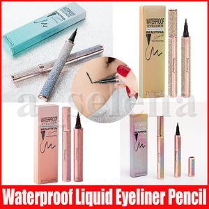 4D Silk Fiber Eyeliner Stift Thick culing Wasserdicht Langlebige Wimpernverlängerung Lengthening Star Black Eyeliner Pen
