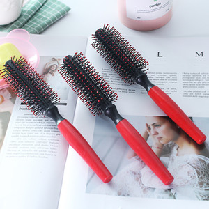 Portable Hair Comb Heat Resistant Anti-static Drying Curling Brushes Curly Massage Roller Hairdressing Salon Care Styling Tools
