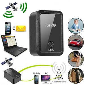 GF-09 Mini GPS APP dispositivo Telecomando antifurto GSM GPRS Locator Magnetic Recording vocale remoto Pickup Wifi LBS AGPS Tracker