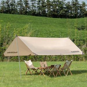 Палатки и приюты прижимают 4-6 человек навес шестигранные солнцезащитные дождя навес навесной