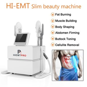 NEW portable EMslim HI-EMT machine Muscle Stimulation EMS electromagnetic fat burning shaping hiemt ems Sculpt beauty equipment