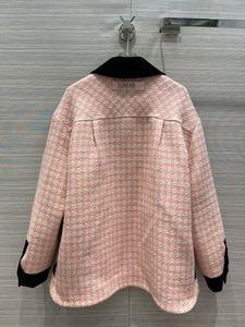 2021 Milan 0104-12 Pista de manga de solapa Trench Femeninas de la marca con paneles Abrigos Abrigos Mal mismo Diseñador Cuello Asdig