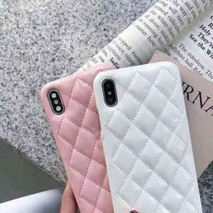Cassa del telefono di modo per iPhone 12 12 Pro Max XS XR XSMAX Top Quality Bright Leather Great Designer Case per iPhone 11 11 Pro Max