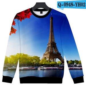 Hot Sale France Paris Eiffel Tower 3d Hoodies Men Women Sweatshirts Famous La Tour Eiffel Hoodie Sweatshirt Pollover Tracksuit wmtohR