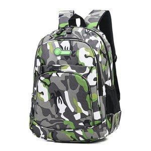Relaxed large capacity schoolbag Shujin camouflage waterproof bag girls' school bag boys' backpack 2019 new children's backpack schoolbag