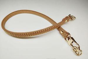 Echtes Leder 0.7 * 40 cm Luxus kurze Riemen Ersatz echter Ledertasche Griff