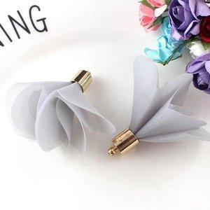 10pcs Mini-Fleurs Mini Fleurs Tassels Fringe Rouge Noir Blanc Gris Accessoires de bricolage Boucles d'oreilles Colliers Colliers Constatations de bijoux Pendants H Jllzgm