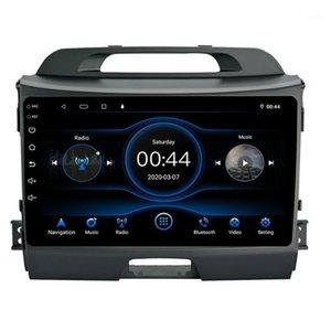 Displus de 9 pouces Android 10.1 Voiture radio multimédia Lecteur vidéo 9 pouces Display GPS WIFI Car Radio Head Unité pour Kia Sportage1