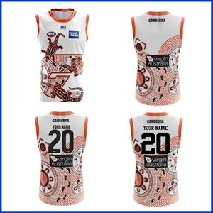 2020 GWS GIANTS INDIGENOUS GUERNSEY RUGBY TRAINING JERSEY size S-XL-3XL