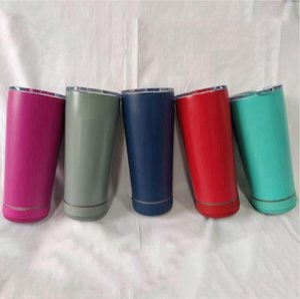 Speaker Cup Bluetooth Outdoor Portable Waterproof Loudspeaker Glass Milk Beer Mug Wireless Smart Music With Lid Tumbler LJJP835