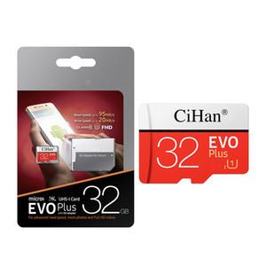 어댑터 도매 도매 EVO 선택 128기가바이트 64기가바이트 32기가바이트 16기가바이트 마이크로 UHS-I 카드 클래스 10 U3 마이크로 SD TF 메모리 카드 빠른 속도 CiHan