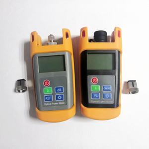 Fibra frete grátis Tester Kit com medidor de potência óptica e Fonte de Luz Optical