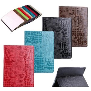 Luxury Leather Case For Ipad Pro Crocodile Stand Card Pocket Pu Protective Cover For Ipad 9.7 Air a jllUdc xjfshop