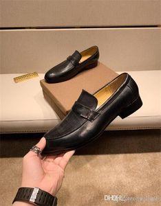 18 diseñador zapato de cuero para hombres Wholecut Oxford Zapato de lujo para hombre zapatos de vestir marrón negro pintado a mano oficina oficina formal para hombre zapatos 44