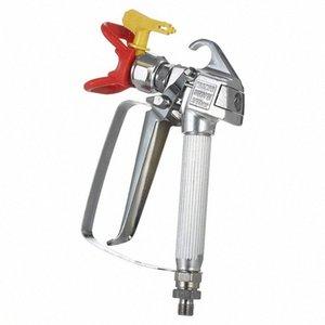 3600 PSI alta pressione Airless vernice Pistola in alluminio a spruzzo con sedile 517 ugello Grille Per airless spruzzatore KXRr #