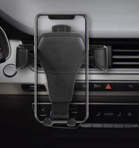2019 Universal Gravity Car Phone Holder Air Vent Mount Stand For iPhone X XS MAX XR 7 8 plus Samsung S10 plus No Magnetic with retail Box
