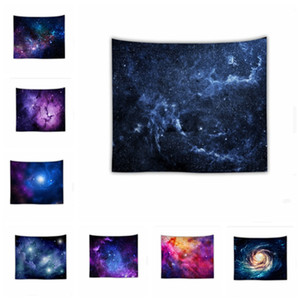 Amazing Night Star Tapestry 3D Printed Wall Hanging Picture Bohemian Beach Towel Table Cloth Blankets Warm soft starry cosmic blanket YHM92