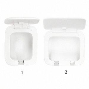 Lumière UV Brosse à dents stérilisateur USB Holder punch sans charge anti-bactérien Ultraviolet Brosse à dents de désinfection Boîte 7k2S #