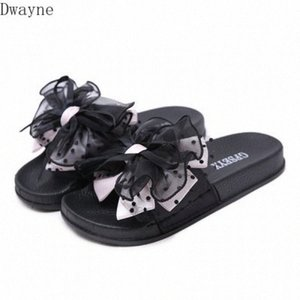 2020 Summer New Sandals And Slippers Muffin Thick Bottom Fashion Flowers Bow Womens Shoes Comfortable Slippers pXRr#