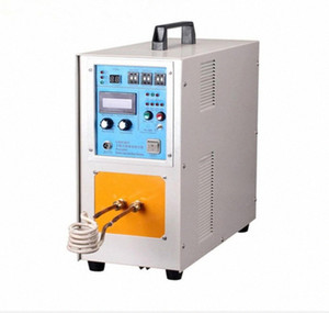 15KW 30-100KHZ High Frequency Induction Heater Machine Quenching Equipment Small Melting Furnace 220v 110v 1-99s 0.2Mpa, 2L min PCyK#