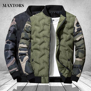 Mens Winter Jackets and Coats Outerwear Clothing 2020 Camouflage Bomber Jacket Men's Windbreaker Thick Warm Male Parkas